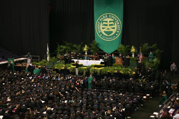 Graduation Fair Point Park University Pittsburgh Pa
