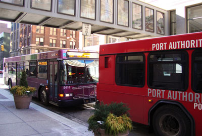 Mass transit in pittsburgh point park university - Port authority pittsburgh ...