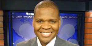 Pictured is Larry Miller, 2009 M.A. journalism and mass communication alumnus and anchor/reporter for KOBI TV. | Photo provided by KOBI
