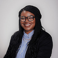 Pictured is Leatra Tate, Ph.D.