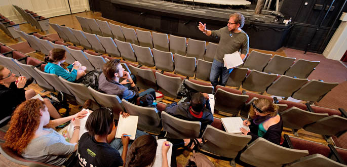 MFA in Writing for the Screen and Stage