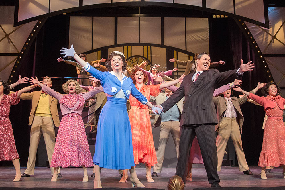 A photo from 42nd Street at the Pittsburgh Playhouse. Photo | John Altdorfer