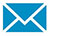 Icon of an envelope to represent email.