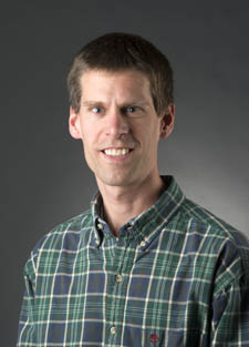 Pictured is Matthew Opdyke, Ph.D., associate professor of environmental science. | Photo by Jim Judkis