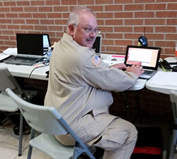 Pictured is public administration part-time instructor Roy Cox in Dickinson, Texas. | Photo submitted by Cox
