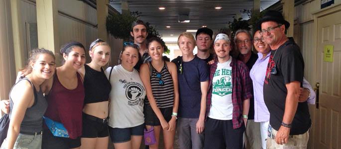 Students meet warped tour founder work at shania twain concert students meet warped tour founder work at shania twain concert point park university m4hsunfo