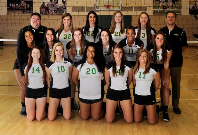 Point Park Volleyball 2013 Team Photo FOR WEB