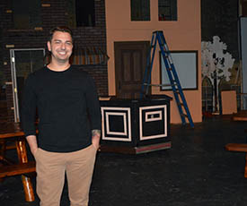 Pictured is Alan Stevens, executive director of The Academy Theatre. Submitted photo