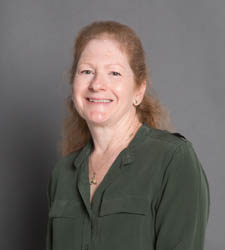 Pictured is Assistant Professor of HR Sandra Mervosh.