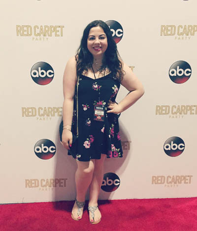 Pictured is SAEM major Angela Thomas on the red carpet at the Country Music Television Awards in Nashville. | Photo submitted by Thomas