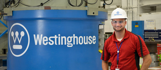 Pictured is M.B.A. alumnus Chris Chavez, senior field service engineer for Westinghouse. | Photo by Jim Judkis