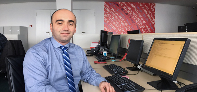 Meet Dejan Duraskovic, M.B.A. alumnus and organizational development, project management and business analytics expert for Addiko Bank in Podgorica, Montenegro. | Photo submitted by Duraskovic