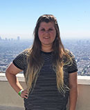 Pictured is SAEM student Cassandra Crisp, talent intern for the CONAN show. | Photo submitted by Crisp