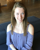Pictured is Megan Thorpe, SAEM student and social media intern for Love Social Media. | Photo by Katie Love
