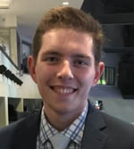 Pictured is Evan Schall, new media coordinator for the Penguins. | Submitted photo
