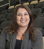Pictured is Jen Bullano Ridgley, senior director of communications for the Pittsburgh Penguins. | Photo by Greg Shamus