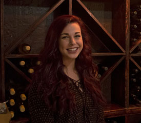 Pictured is Rachel Travisano, SAEM alumna and concert coordinator for Pittsburgh Winery. | Photo by Shayna Mendez