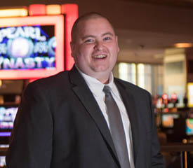 Pictured is Robby Bell, an SAEM alumnus of Point Park University and marketing specialist for the Rivers Casino. | Photo by Chris Squier