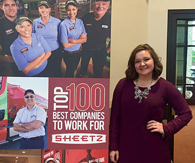 Pictured is Chelsey Driskel at Sheetz, Inc. Photo | Andrea Rogers