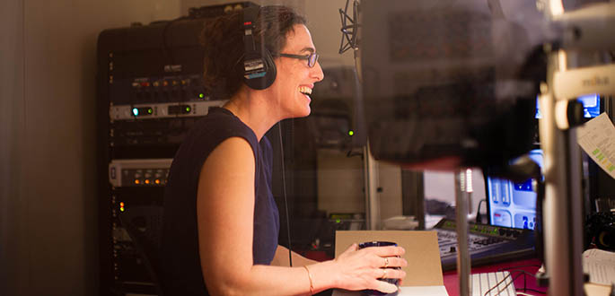Pictured is Sarah Koenig, host and co-creator of 'Serial' Podcast. Photo | Elise Bergerson