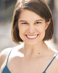 Pictured is dance alumna Ali Geroche | Submitted headshot