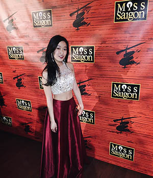 Pictured musical theatre alumna Viveca Chow