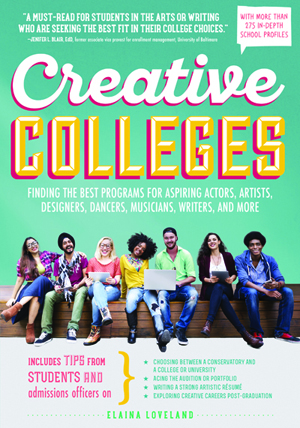 Creative Colleges 2017 book cover