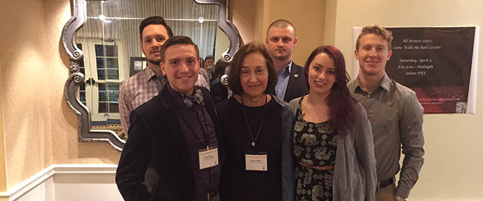 Point Park Professor Helen Fallon and Honors Program students played a major role in the planning of the annual Northeast Regional Honors Council conference, held April 9-12 in Gettysburg, Pa.