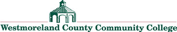 Logo of the Westmoreland County Community College. Used with permission.