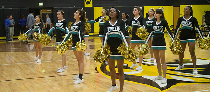 Starting fall 2016, Point Park will offer competitive cheer and dance teams as part of its varsity sports program.