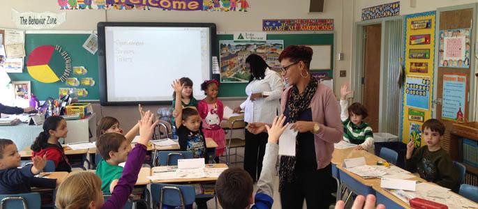 Education Majors Teach Junior Achievement Topics to Elementary