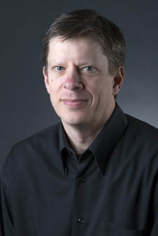 Pictured is Associate Professor of Electrical Engineering Gregg Johnson, Ph.D.