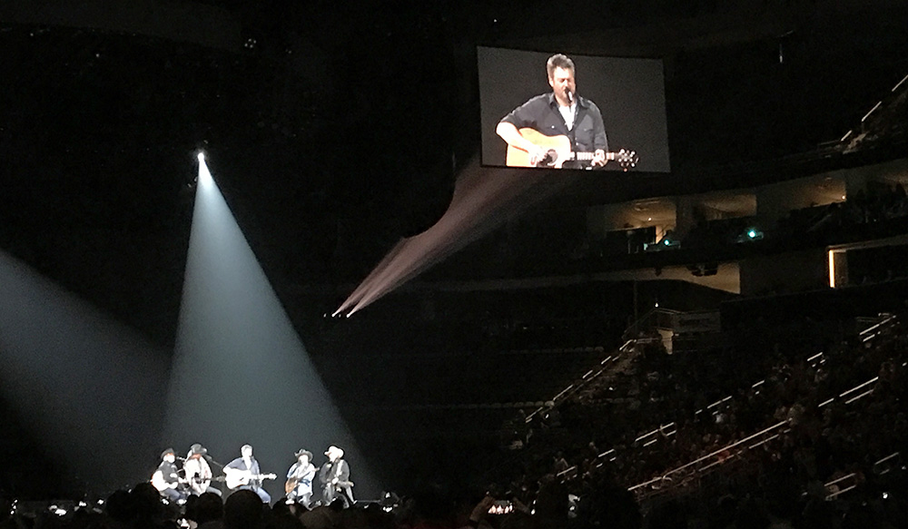 Pictured is the Blake Shelton concert. Photo by Alyssa King.