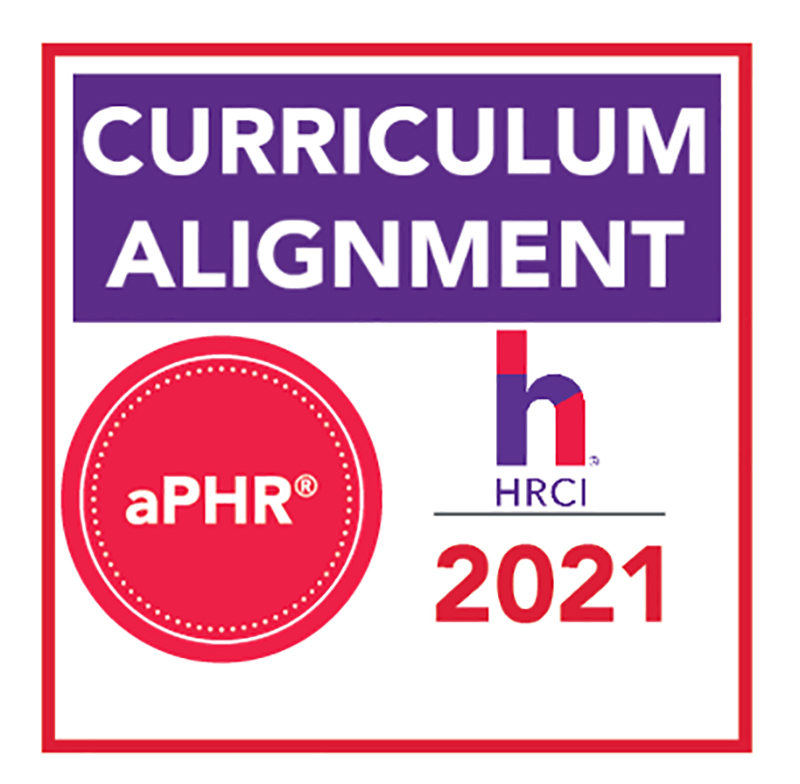 Pictured is the HRCI aPHR logo. Submitted photo.