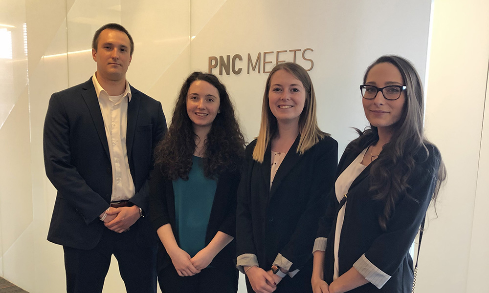 Pictured are accounting students at PNC. Photo by Jayne Olshanski