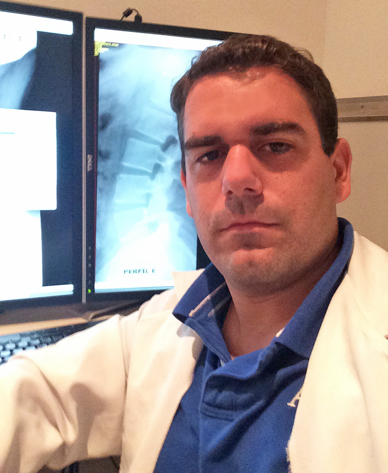 Pictured is MBA alumnus Thiago Siervo, MD. Photo submitted by Siervo.