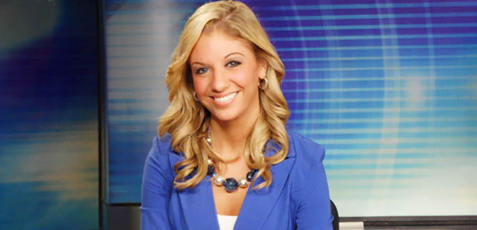 Broadcast Reporting Alumna Lindsey Watson is an Anchor