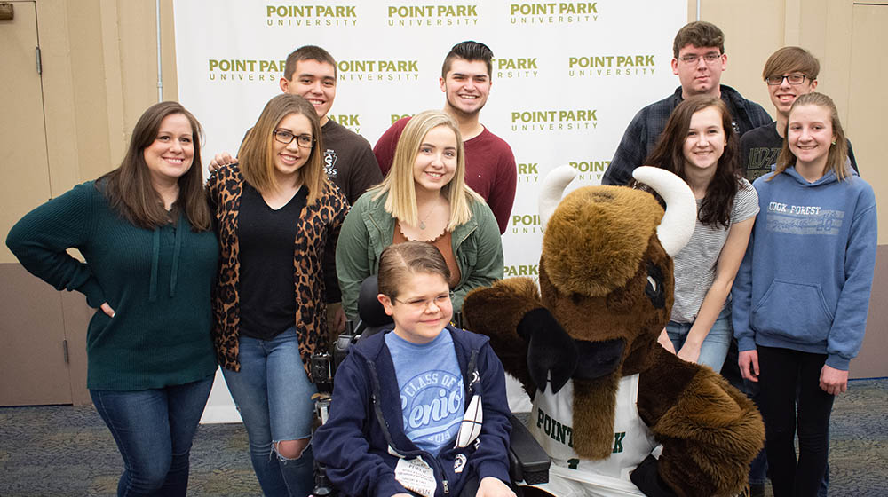 A photo from 2019 Spring High School Media Day at Point Park University. Photo | Brandy Richey