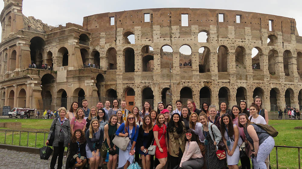 International Media Class 2018 in Italy. Photo | Jan Getz