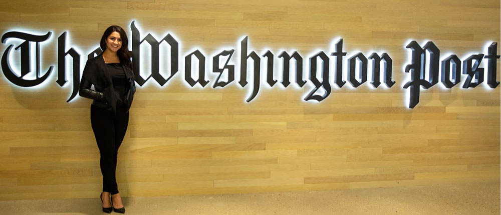 Pictured is Michele Tabaka at The Washington Post. Submitted photo