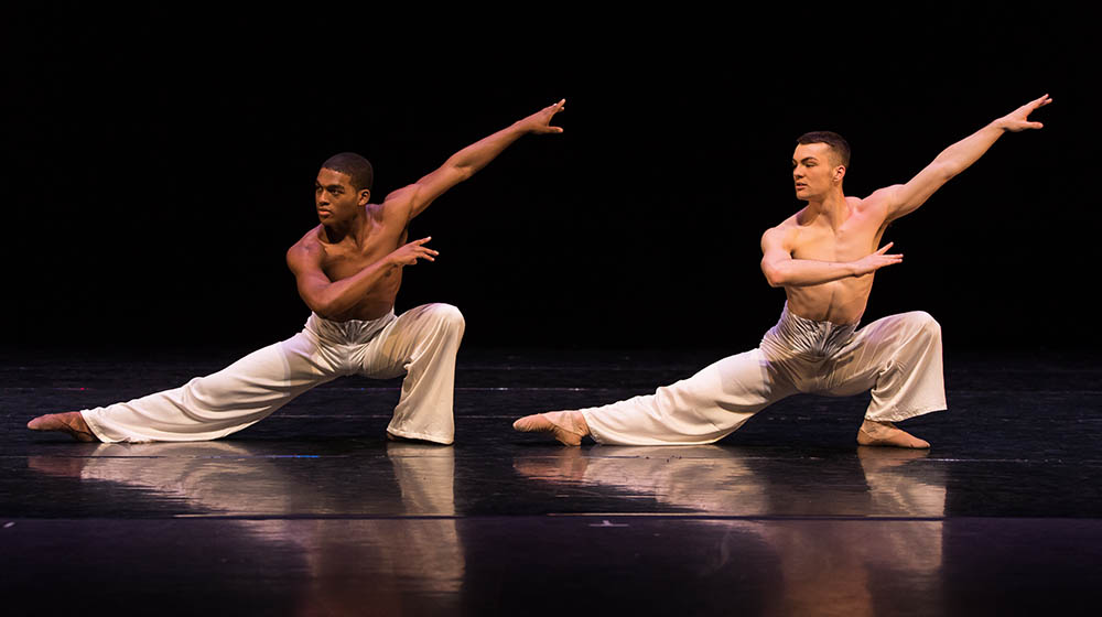 "Point Park University students perform ""Art of War"" by Edwaard Liang. Photo 