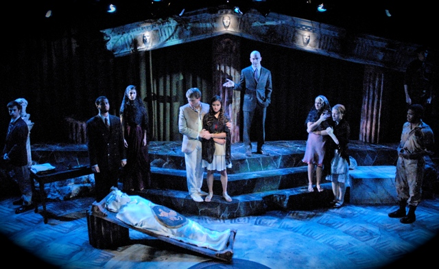 a review of the play antigone by sophocles Book review: the three theban plays by sophocles (trans robert fagles)  may 29  it's the women, and most strongly, antigone her depth.