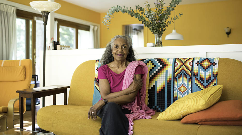 Pictured is Brenda Dixon Gottschild. Photo by Ryan Collerd for Pew Center for Arts & Heritage.