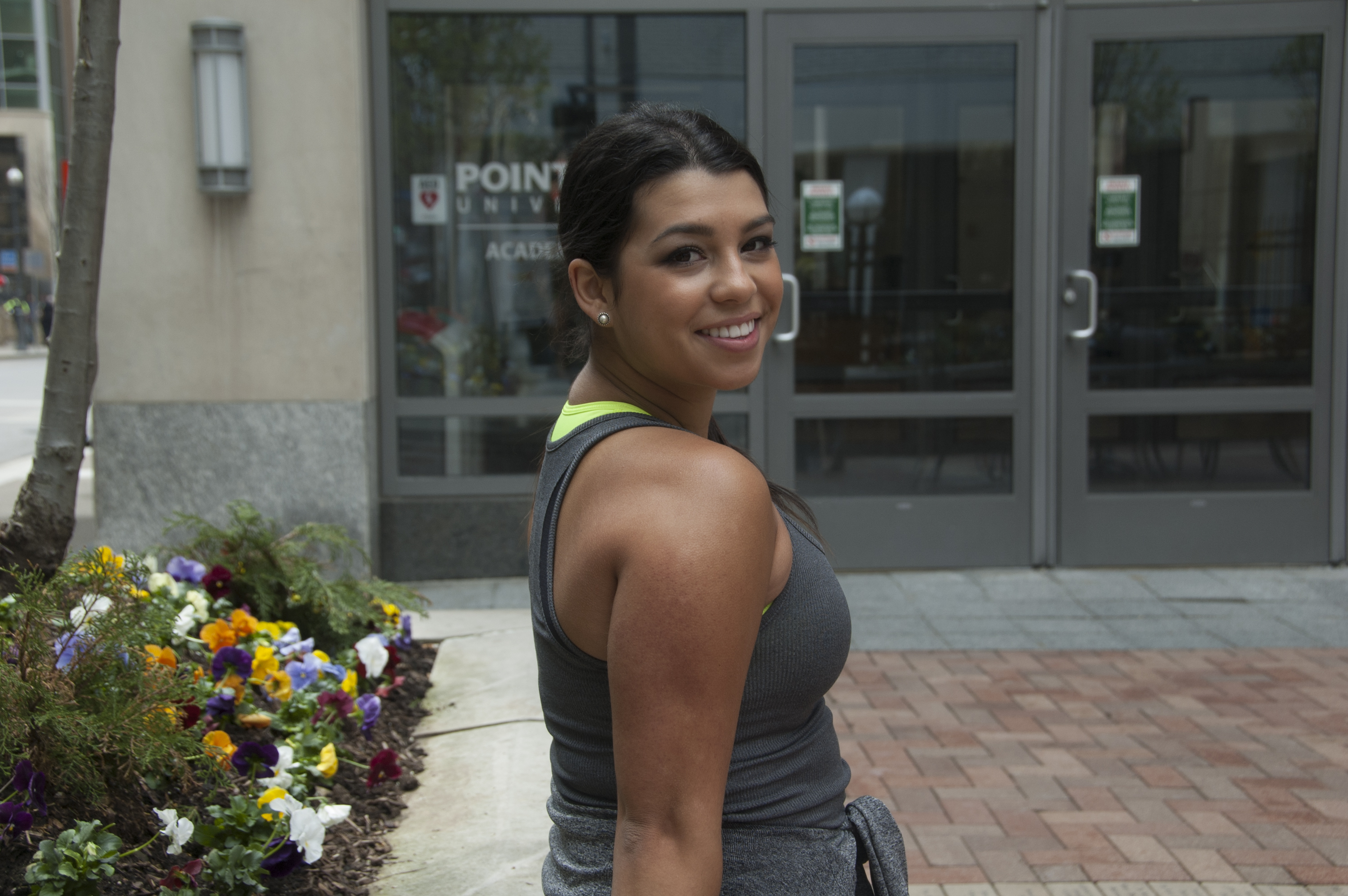 Pictured is Michelle Iglesias, Acting Major