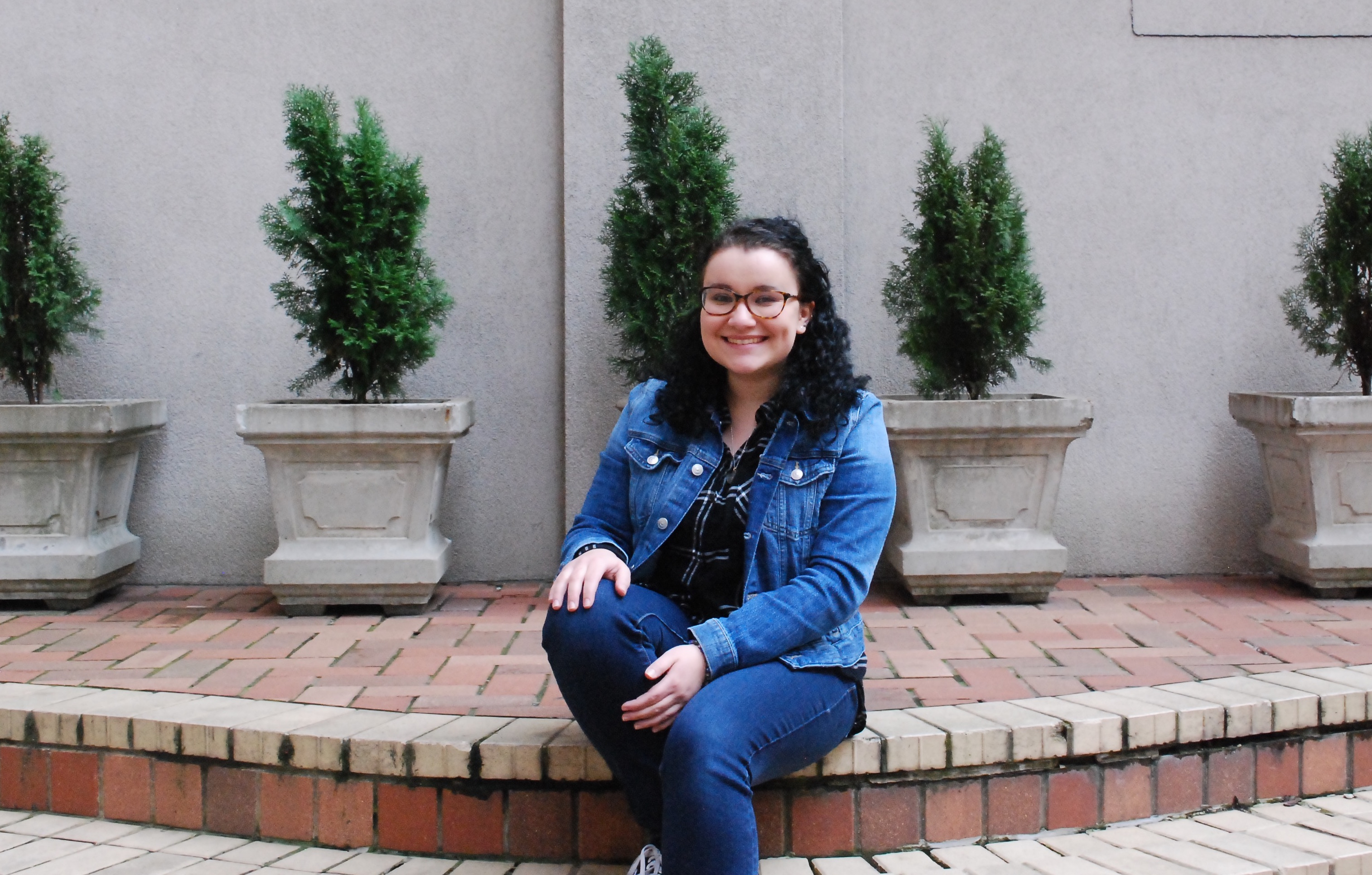 Pictured is Patty Sorg, Criminal Justice Major