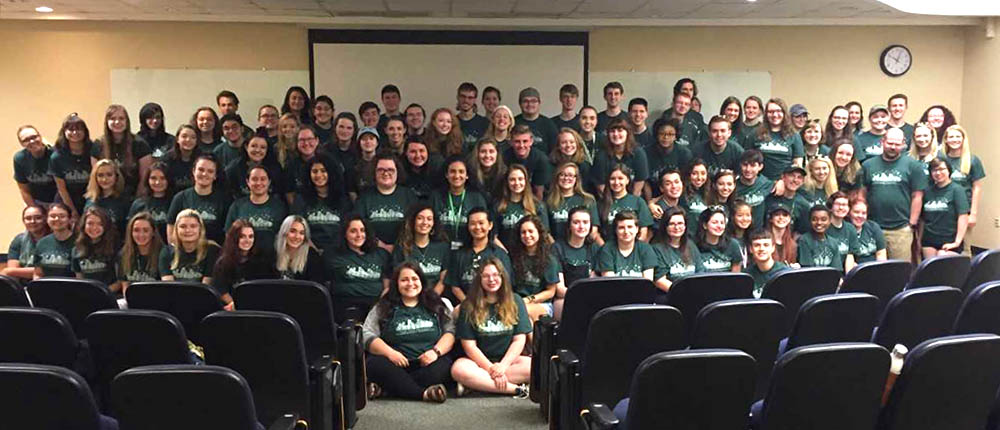 Point Park University Honors Program students. Submitted photo