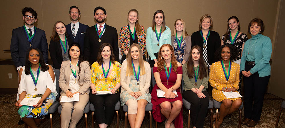 Point Park University inducts 25 students to the Alpha Chi National College Honor Society April 20. Photo | John Altdorfer