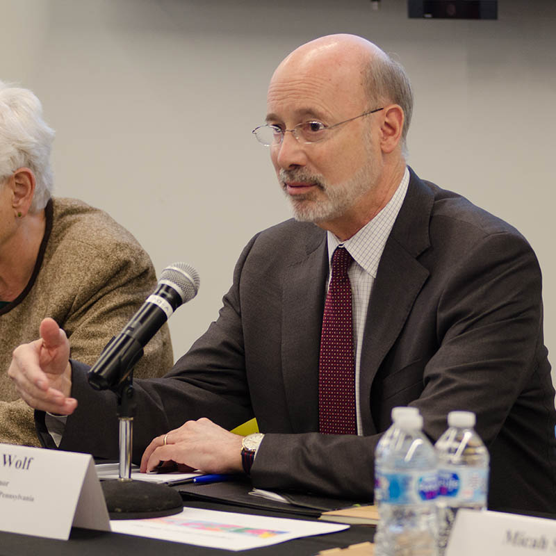 Pictured is Gov. Tom Wolf. Photo | Chris Rolinson