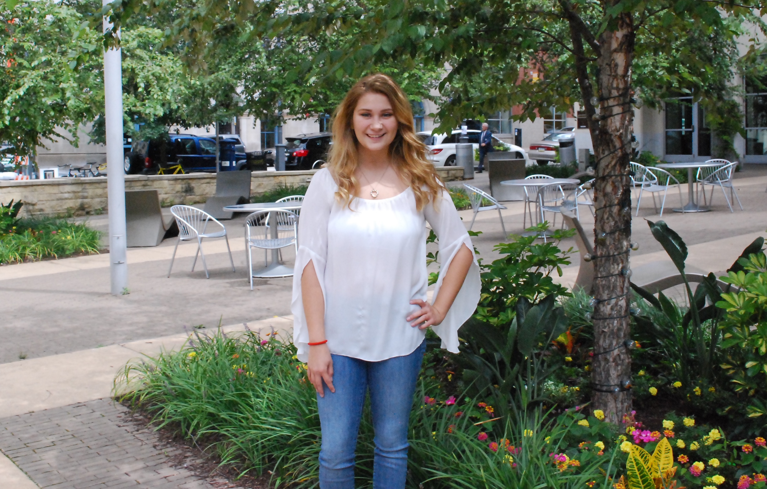 Pictured is Isabella Yobbagy, Psychology Major