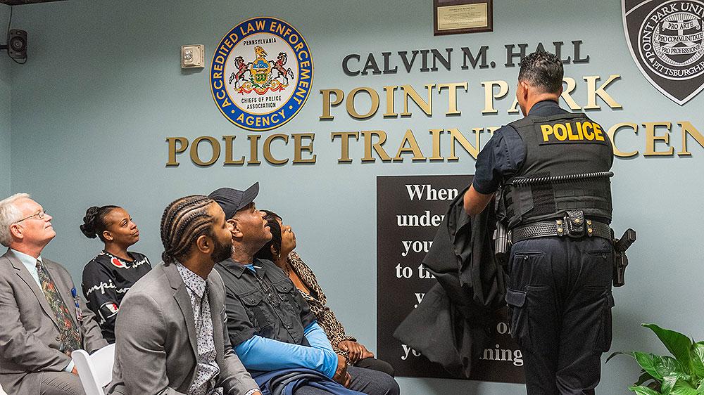 Calvin Hall banner